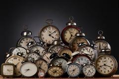 Horloges photo stock
