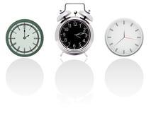 Horloges Photos libres de droits
