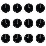 Horloges Images libres de droits