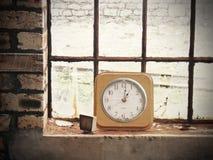 Horloges arrêtées Images libres de droits