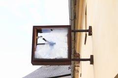 Horloges cassées Photo libre de droits