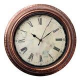 Horloges dans le style ancien Images libres de droits