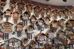 Coucou-horloge Image libre de droits