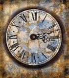 Horloges de cru photo stock