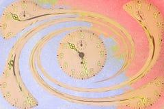 Horloges en spirale Image stock