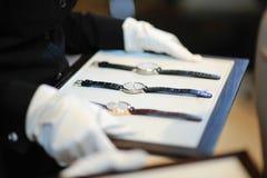Horloges voor Verkoop Royalty-vrije Stock Fotografie