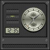 Horlogesachtergrond Stock Afbeeldingen