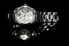 Horlogeszilver Stock Foto
