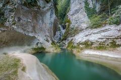 Horma kanjon Turkiet Arkivfoto