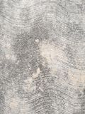 Hormigón áspero con las líneas onduladas Imagenes de archivo