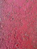 Hormigón con la pintura roja imagenes de archivo