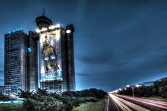 Hormigón de Belgrado Imagen de archivo libre de regalías
