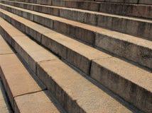 Hormigón de la escalera Fotografía de archivo libre de regalías