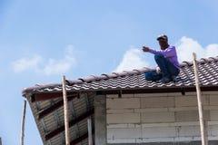 Hormigón del tejado Fotos de archivo libres de regalías