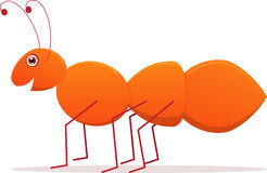 Hormiga linda del vector de la historieta Foto de archivo