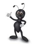 Hormiga negra Fotografía de archivo libre de regalías