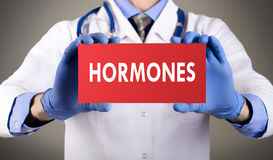 hormon arkivbild