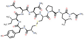 Hormona do amor do Oxytocin Fotos de Stock