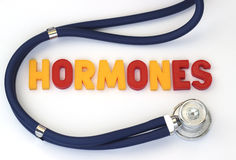 hormonas Imagenes de archivo