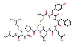 Hormone vasopressin Royalty Free Stock Image