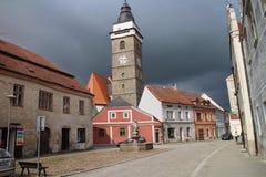 Horní náměstí square in Slavonice Stock Photography