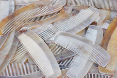 Horn comb 2 Stock Image
