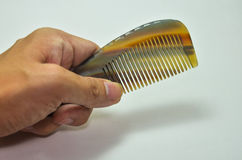 Horn comb Royalty Free Stock Photo