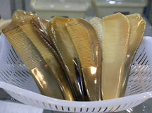 Horn combs Stock Photography