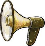 Horn- högtalare Arkivbilder