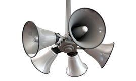 Horn- högtalare som hänger sikt Royaltyfri Foto