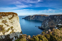 Horn Head Cliff  , Donegal , Ireland Stock Photography