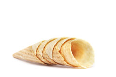 Horn for ice cream Stock Photography