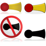 Horn icon Royalty Free Stock Image