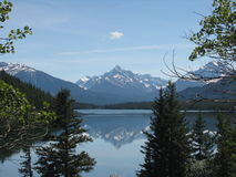 Horn lake. In canada bc stock image