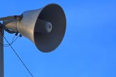 Horn loudspeaker Stock Images