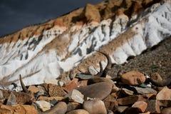 Horn och dal Tibet Arkivfoto