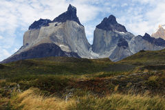 Horn of Paine in Torres Del Paine Stock Image