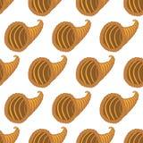Horn of plenty pattern Stock Images