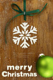 Hornada creativa de la Navidad Imágenes de archivo libres de regalías