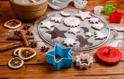 Hornada de la Navidad y adornamiento Imagen de archivo