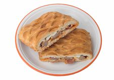 Hornazo (typical spanish pie). Hornazo (typical spanish pie from Salamanca Stock Photos