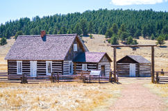 Hornbek Homestead stock photo
