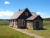 Hornbek Homestead. Adeline Hornbek was a single mother of four children who claimed land near Florissant, Colorado under the Homestead Act and became a stock photography