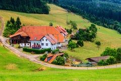 Hornberg, Zwart Bos, Duitsland Royalty-vrije Stock Fotografie