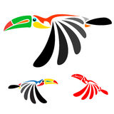 Hornbill. S colorful design on white background Royalty Free Stock Images