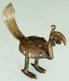 Hornbill Bronze Fotografia Stock