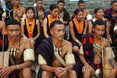 Hornbill Festival of Nagaland-India. Royalty Free Stock Images
