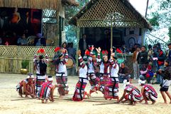 Hornbill Festival of Nagaland-India. Hornbill Festival is an annual cultural extravaganza celebrated by the tribal people in the state of Nagaland in India stock photos
