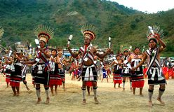 Hornbill Festival of Nagaland-India. Stock Images