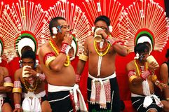 Hornbill Festival of Nagaland-India. Stock Image